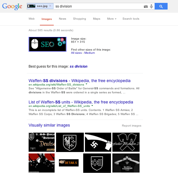 I'm Not Hitler! When Google Images Gets It Very Wrong