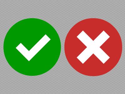 tick-cross-evaluation