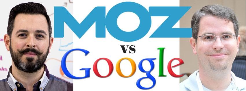 moz-versus-google