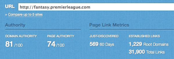 premier league fantasy links