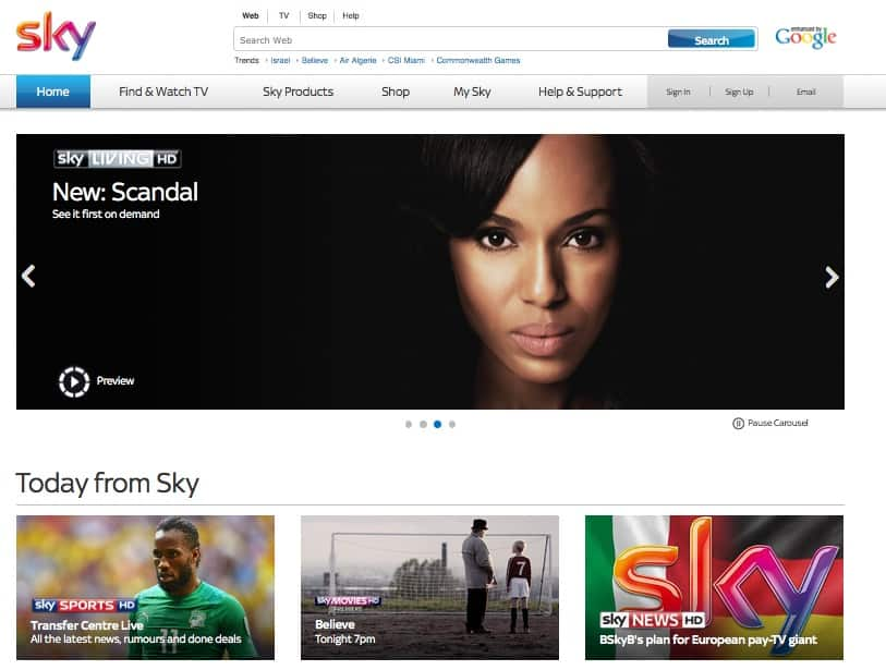 sky-website july 2014