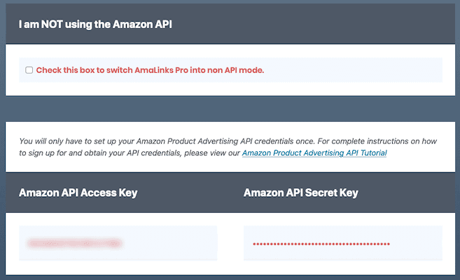 Amalinks Pro Add Amazon Api