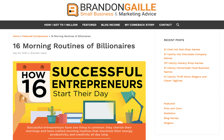 Brandon Gaille Generatepress Example2