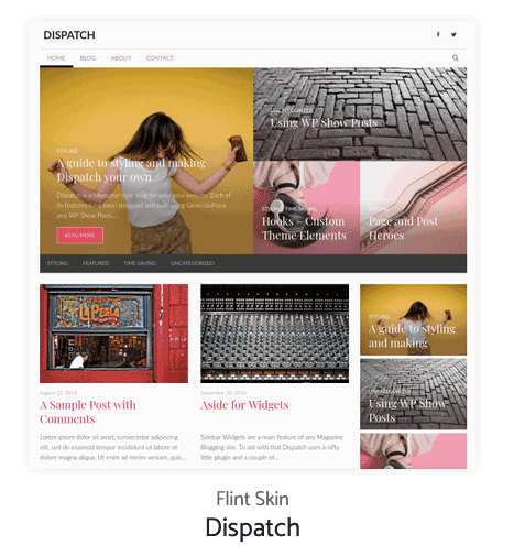 Dispatch Generatepress Site Library