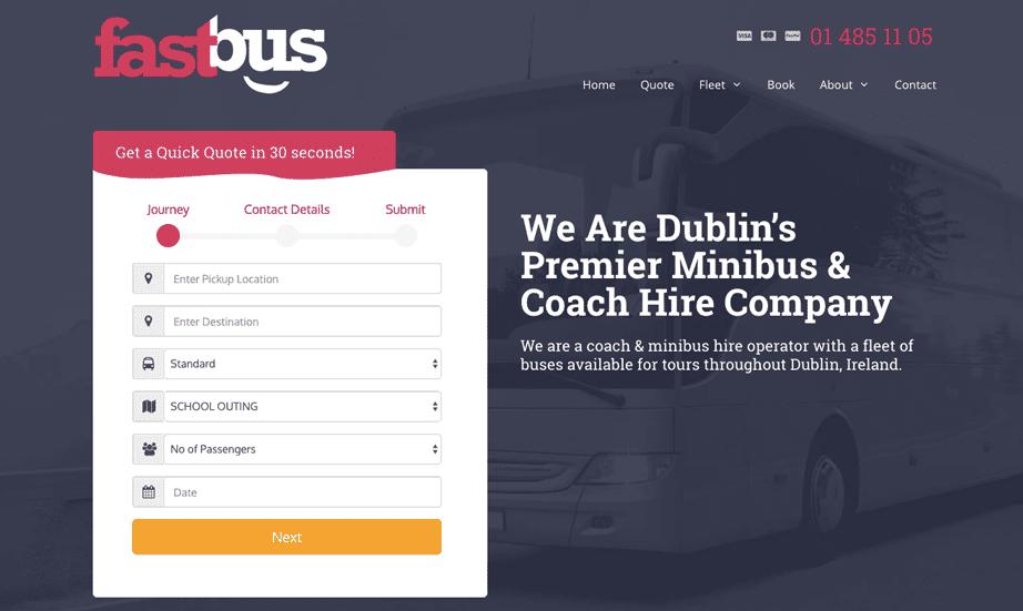 Fastbus Generatepress Premium Example