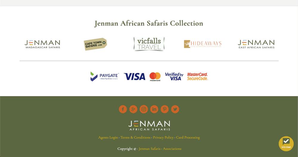 Jenman Safaris Generatepress Premium Example2