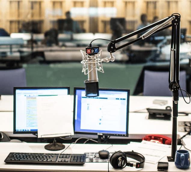 Npr Studios Neumann U87 Microphone