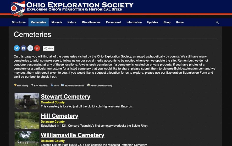 Ohio Exploration Generatepress Premium Example