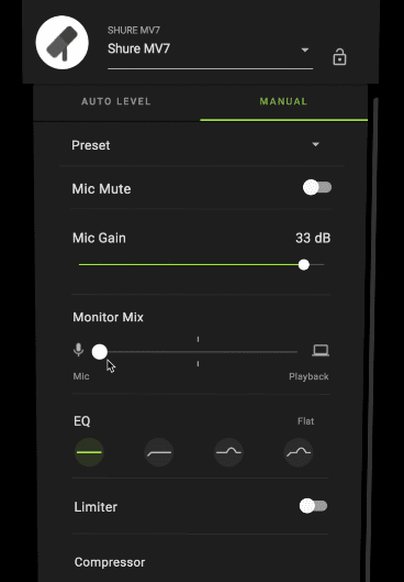Shure Motiv Free Desktop Mobile Recording App