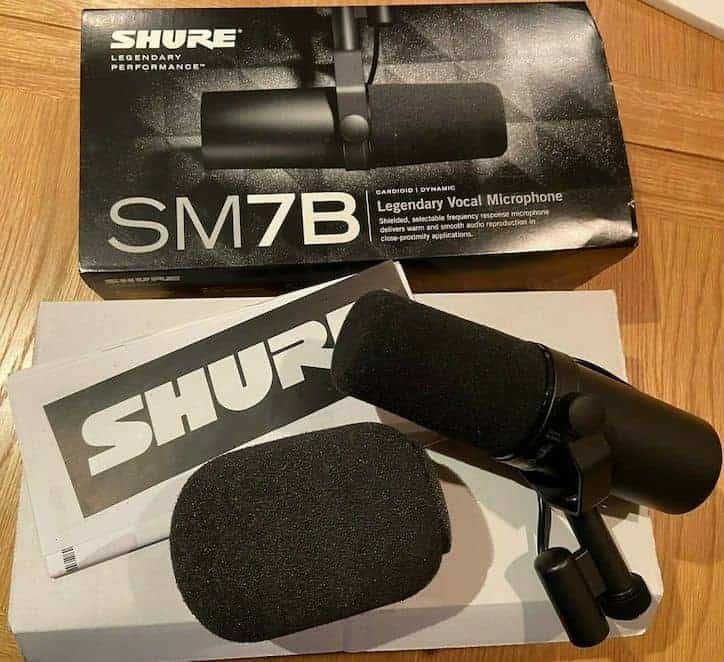 Shure Sm7b Unboxing