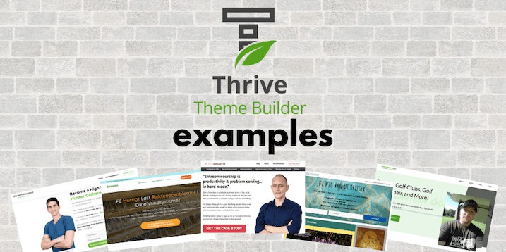 Thrive Theme Builder Examples