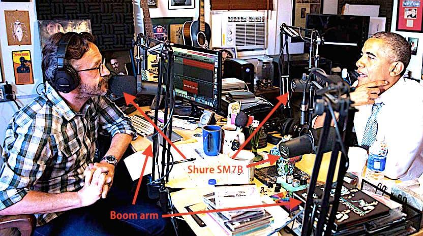 Wtf With Marc Maron Shure Sm7b Boom Arm