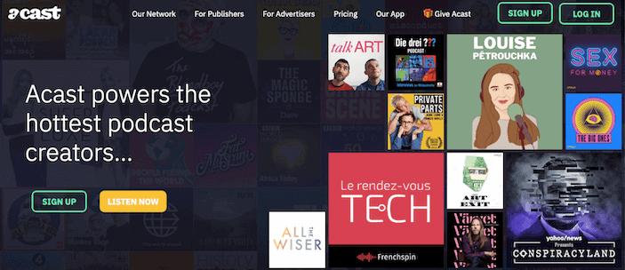 Acast Podcast Hosting