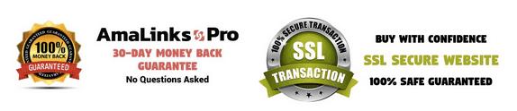 Amalinks Pro Money Back Guarantee