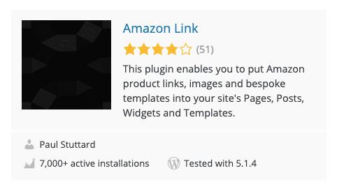Amazon Link Plugin