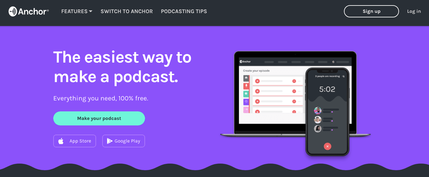 Anchor Fm Podcast Platform