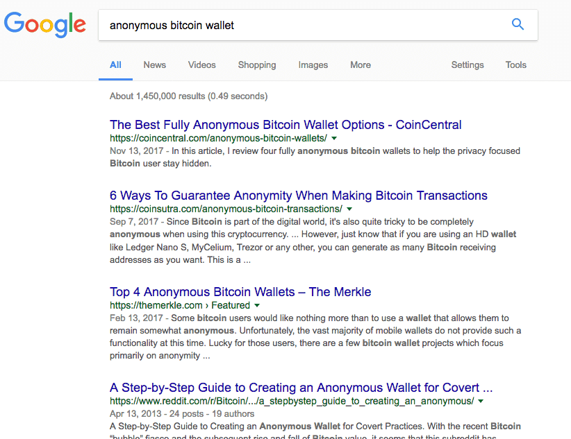 anonymous-bitcoin-wallet-serp