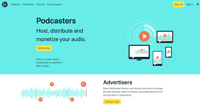 Audioboom Podcast Hosting