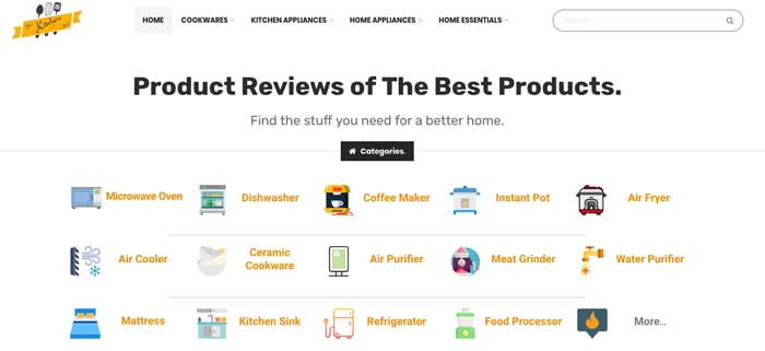 best-kitchen-buy-affiliate-site
