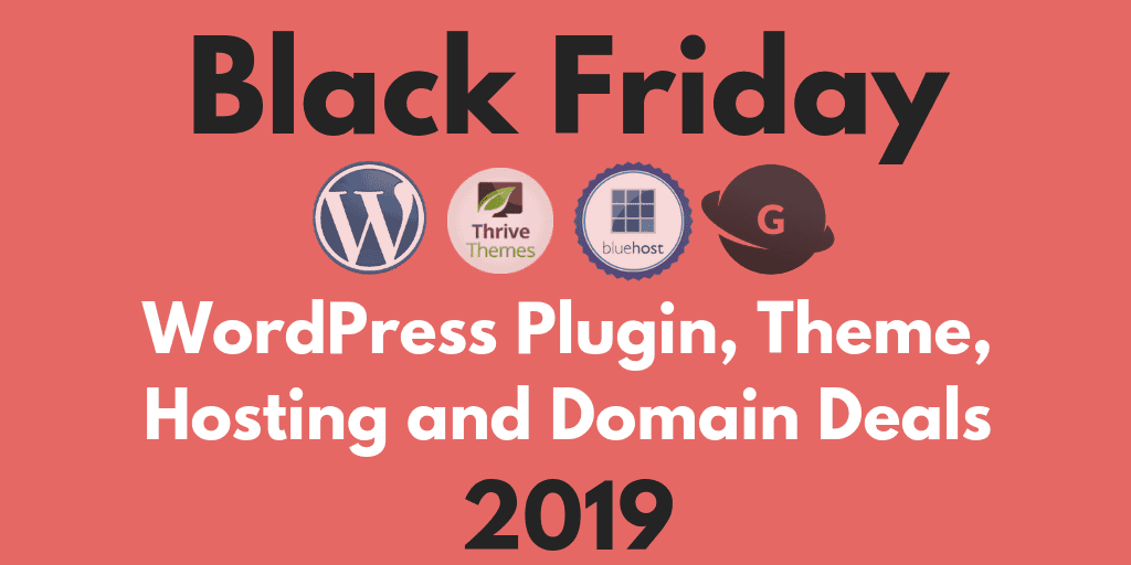 Black Friday WordPress 2019