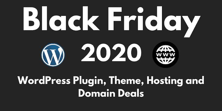 Black Friday Wordpress 2020 Best Theme Plugin Deals