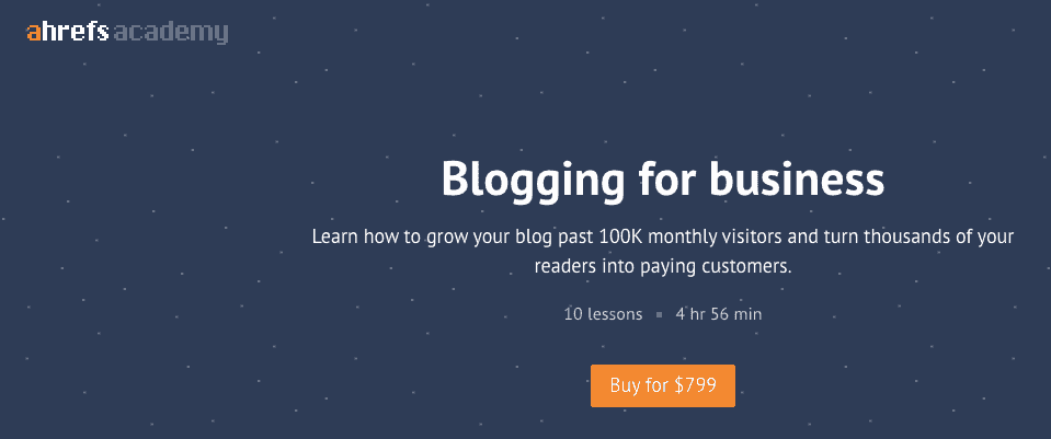 Blogging For Business Seo Course