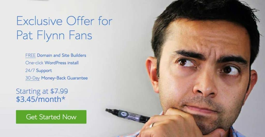 bluehost-patflynn-offer