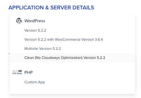 Cloudways Install WordPress