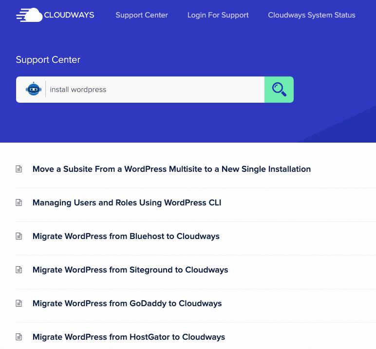 Cloudways Support Centre