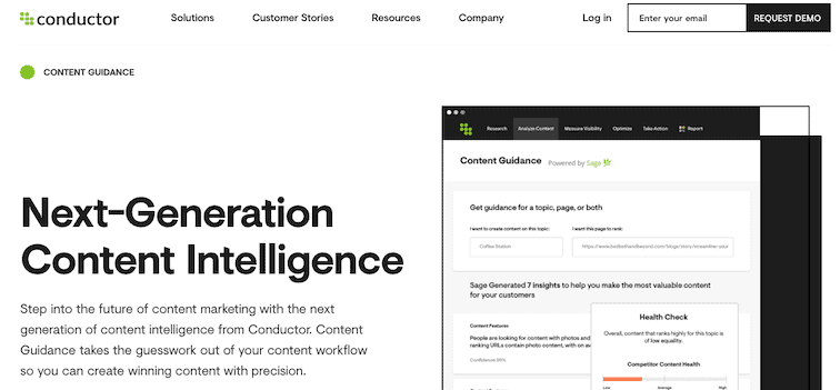 Conductor Content Intelligence