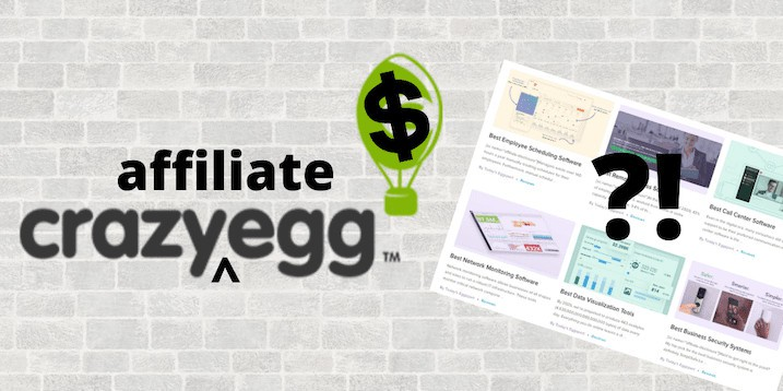 Crazy Egg Affiliate Site