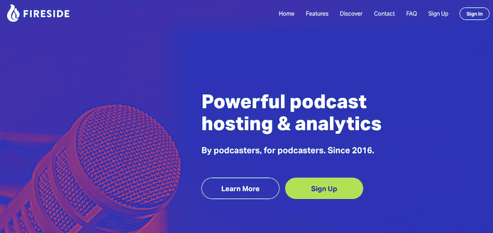 Fireside Podcast Hosting