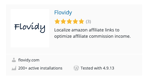 Flovidy Amazon Plugin