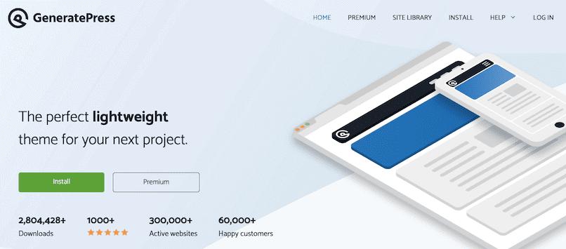 Generatepress Amazon Affiliate Theme