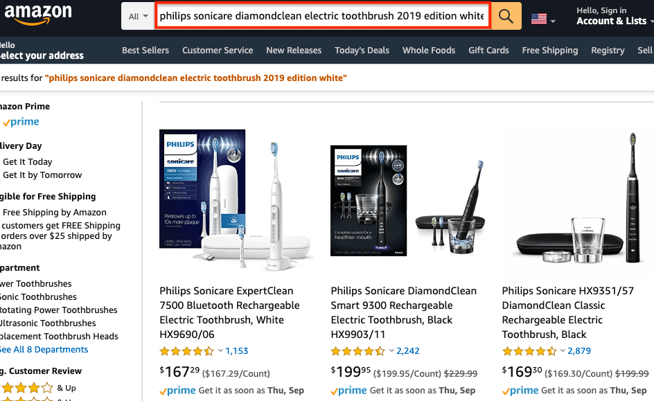 Geniuslink Redirection To Amazon Search Page