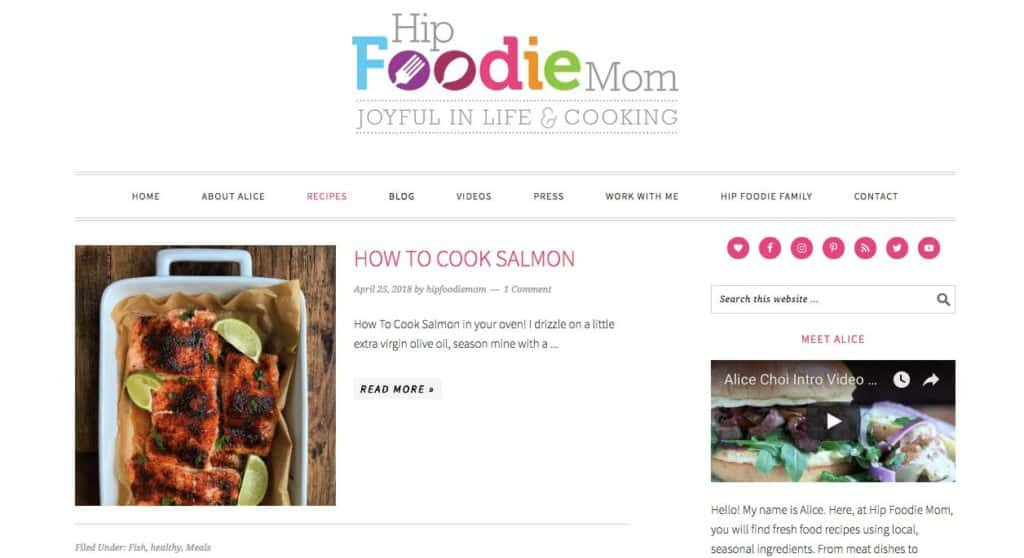 7 Real Food Blogs that use Foodie Pro WordPress Theme