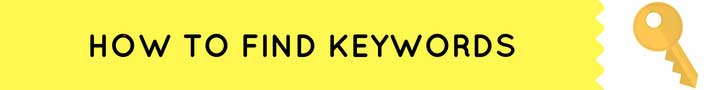 how-to-find-keywords