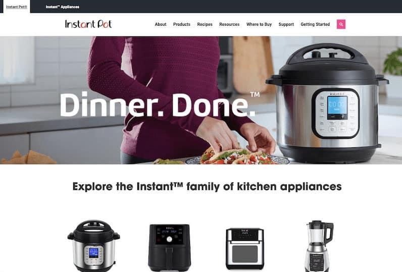 Instant Pot WordPress Showcase