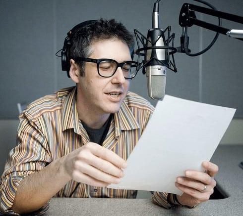 Ira Glass Shure Ksm32 Microphone