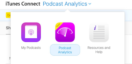 Itunes Connect Podcast Analytics