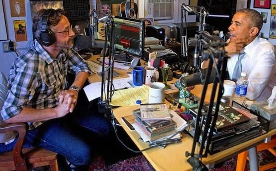 Marc Maron Podcast Microphone