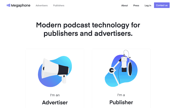 Megaphone Podcast Hosting