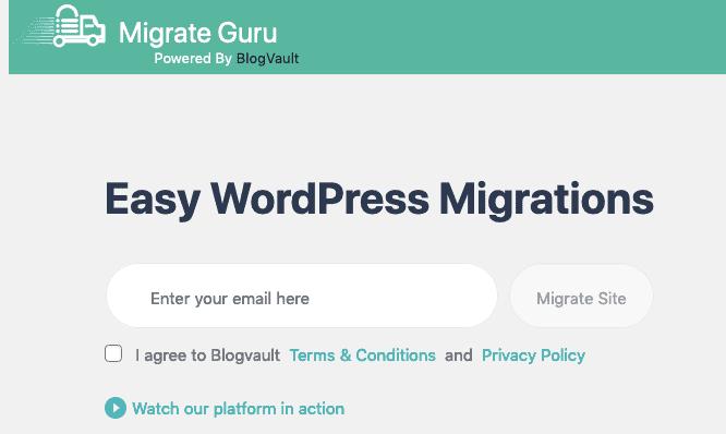 Migrate Guru Step1