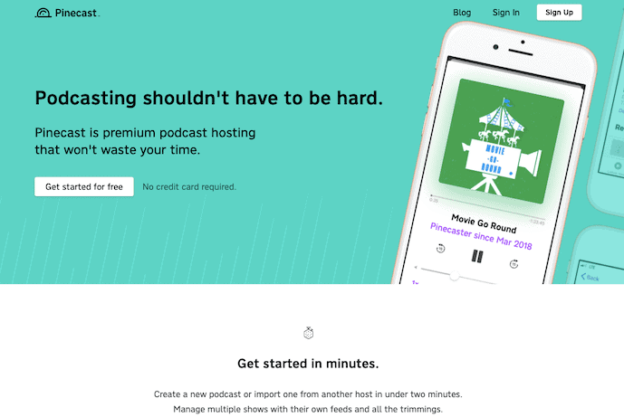 Pinecast Podcast Hosting