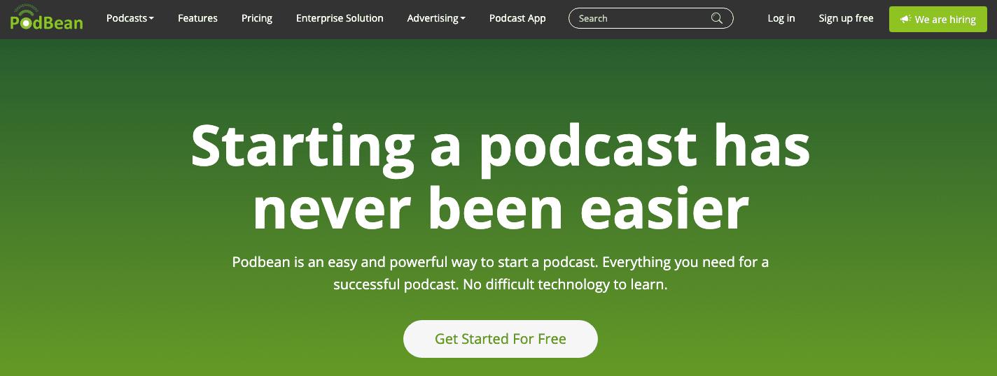 Podbean Podcast Platform