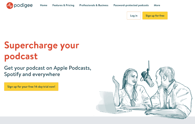 Podigee Podcast Hosting