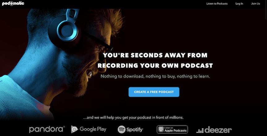 Podomatic Podcast Platform