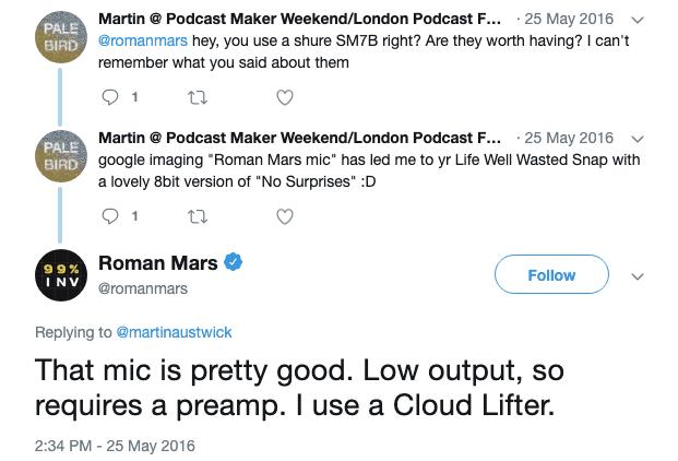Roman Mars Preamp