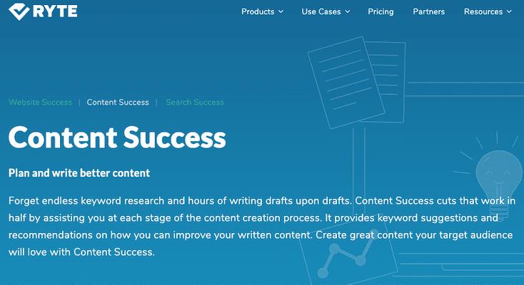 Ryte Content Success