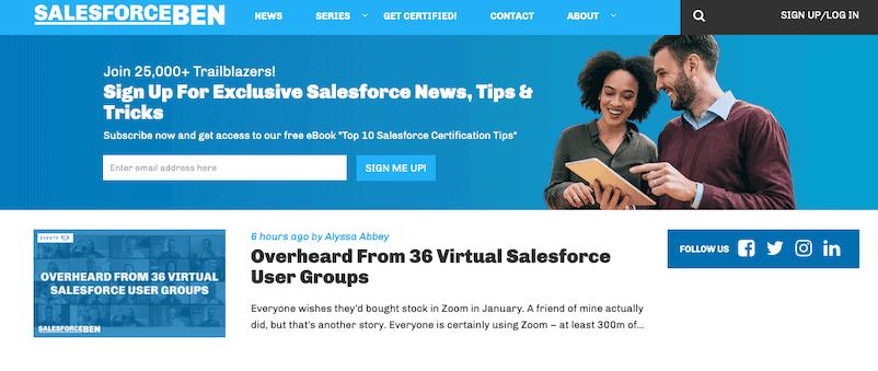 Salesforce Ben Memberpress
